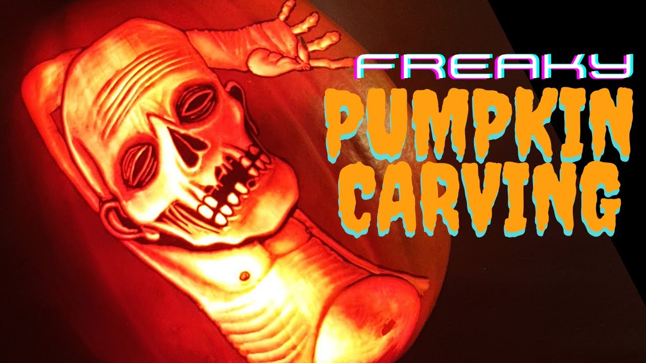 Pumpkin carving timelapse | Pumpkin Freak | Dead guy chillin'