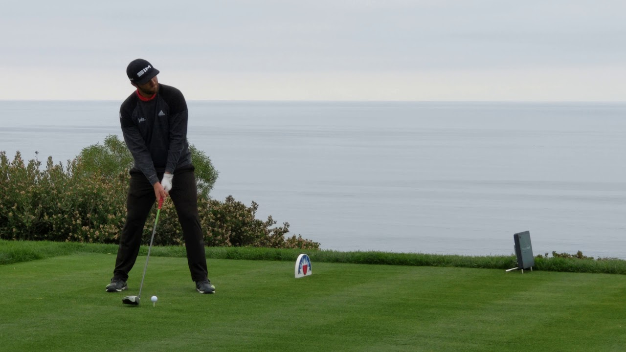 Driver swing of Jon Rahm and audience's reaction at ...
