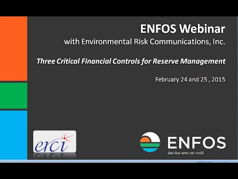 Three Critical Financial Controls for Reserve Management