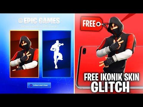 *NO PHONE* How To Get ikonik Skin FREE! - Season X Glitches