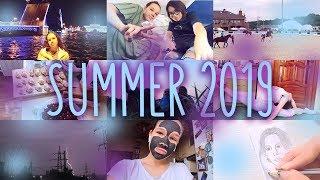 как прошло моё лето 2019?