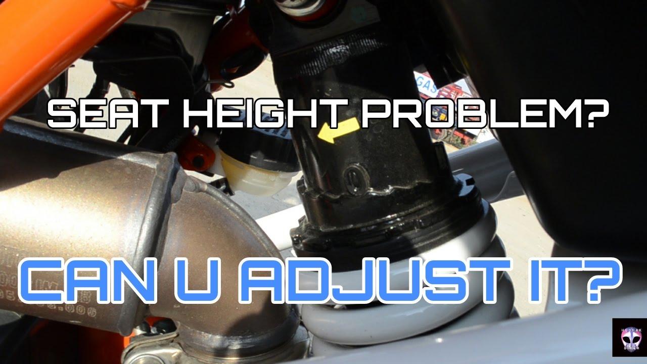 Seat Height Problem In Ktm Duke 390 2017 Model Youtube