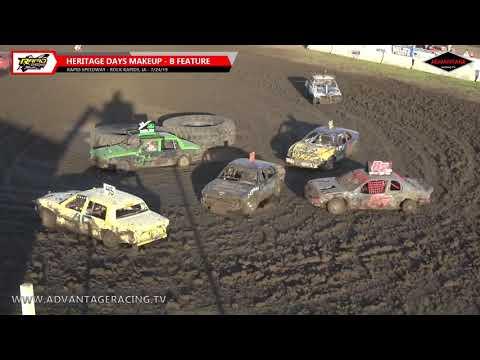 Heritage Days Figure 8 Makeup Features - Rapid Speedway - 7/24/19
