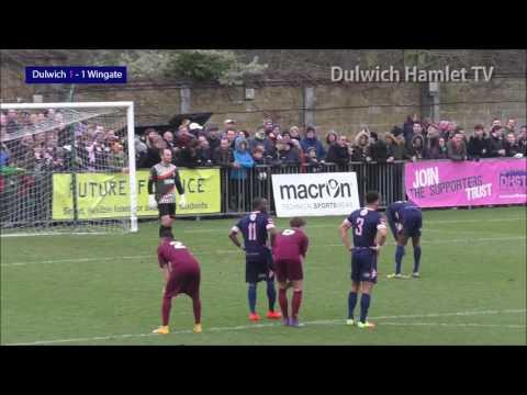 Dulwich Hamlet 1-1 Wingate & Finchley, Ryman League Premier Division, 31/12/16 | Match Highlights