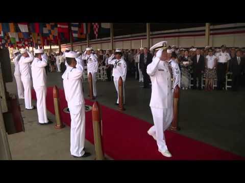 Admiral Harry Harris Takes Command of U S  Pacific Fleet