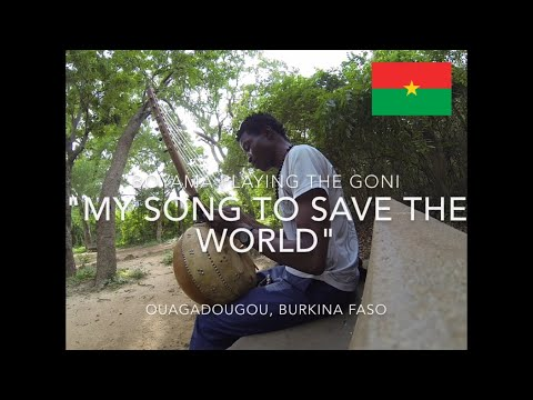Watch Boyama speak 6 languages and play the Goni! He is a true artist from Burkina Faso.