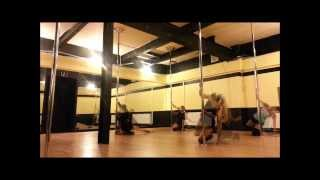 Head Over Heels Beginner Pole Routines of 2013