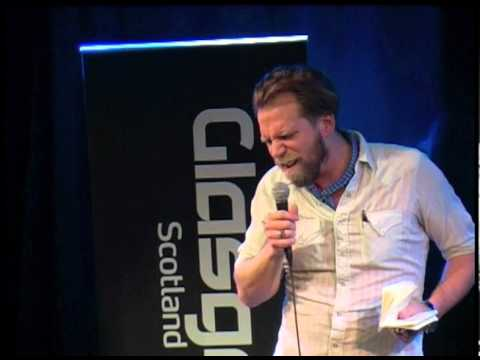 Tony Law at the 2012 Glasgow Comedy Festival