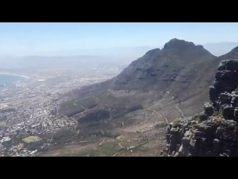 Cape Town Cable Mountain - Birthday Song