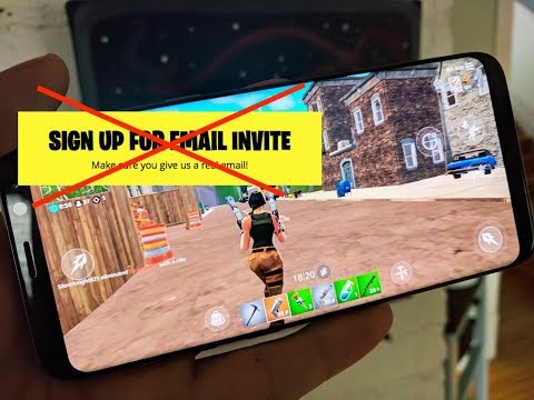 How To Download Fortnite BETA For Android (NO WAITLIST)