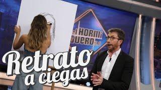 Aitana regala un retrato a ciegas a una fan - El Hormiguero