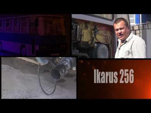 Праздничный запуск двигателя Икарус-256