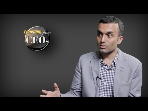 Are entrepreneurs born or taught? by Anand Sanwal, CEO and Co-Founder at CB Insights