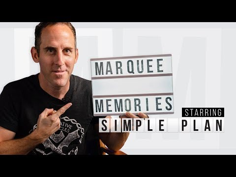 Marquee Memories: Simple Plan Reflects On His Past Favorite Concerts   Setlist.fm