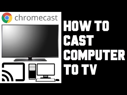 How To Cast Computer To TV Chromecast - How To Cast Your PC To Chromecast - Screen Mirror Windows 10