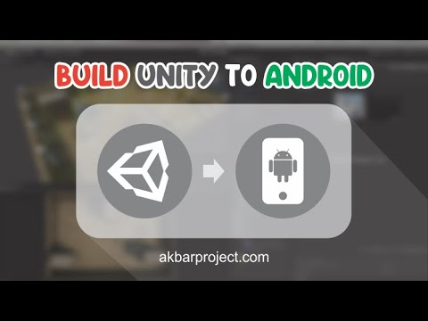 Cara Export Unity Ke Android | Unity Build Project