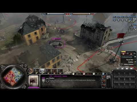 COH 2 Season 5 #40 Allies vs Axis City Fight