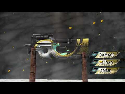Free fire new weapon royal : P90 phantom permanent
