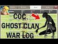 clash of clans new ghost clan war log secrets