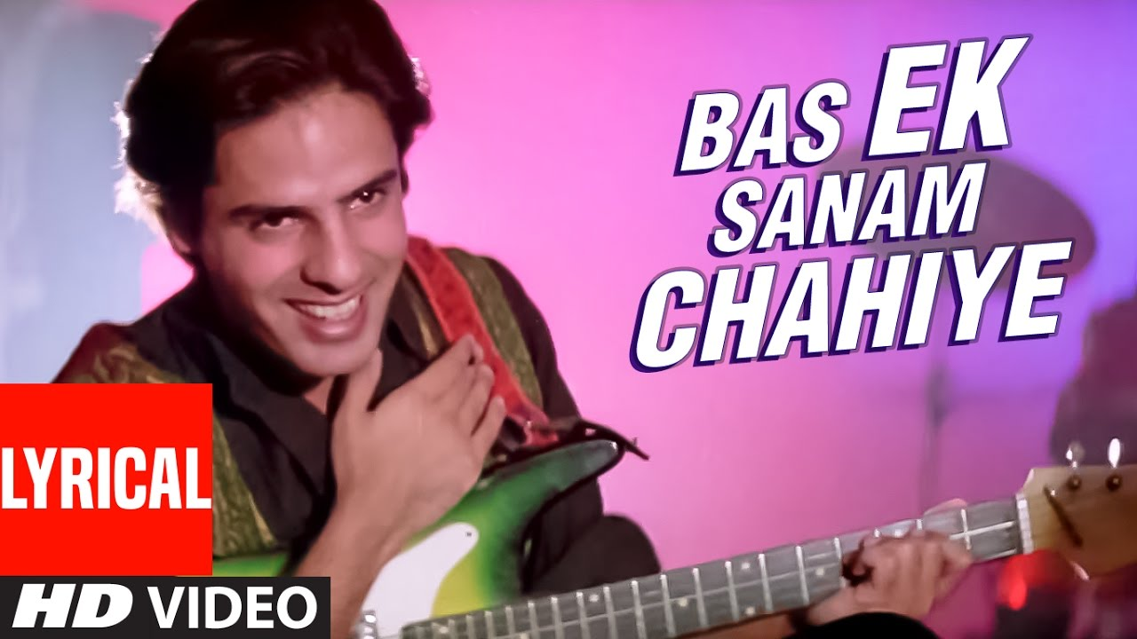 "Download ""Ek Sanam Chahiye Aashiqui Ke Liye"" Lyrical Video   Aashiqui   Kumar Sanu   Rahul Roy, Anu Agarwal"