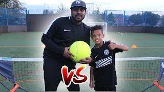 Soccer Tennis Challenge!!
