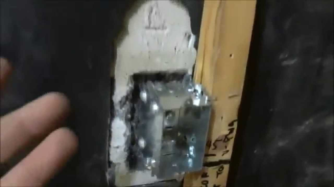How To Mount An Electrical Box Perfectly Flush With