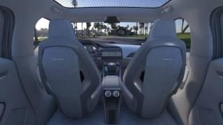Jaguar I-PACE Virtual Reality - CAR INTERIOR REAR CENTRE | AutoMotoTV