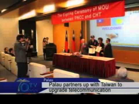 Palau Partners Up With Taiwan To Upgrade Telecommunication