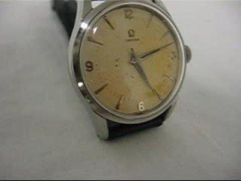 Vintage 1940's Antique Omega Men's Wristwatch For Sale,Works