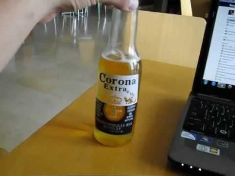 Drinking Corona in Portugal