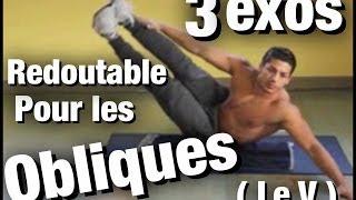 Routine 3 EXERCICES pour les OBLIQUES ( V ) super EFFICACE by Bodytime