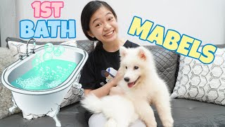 MABEL'S 1ST BATH | KAYCEE WONDERLAND