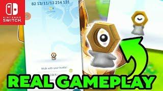 NEW Animation & GAMEPLAY OF BRAND New LEAKED Pokemon For Pokemon Let's GO Pikachu & Eevee