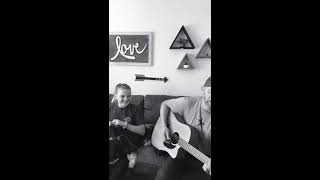 Someone You Loved Lewis Capaldi - acoustic cover by Derek Cate and daughter Hailey