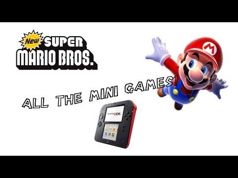 NEW SUPER MARIO DS -ALL THE MINI GAMES