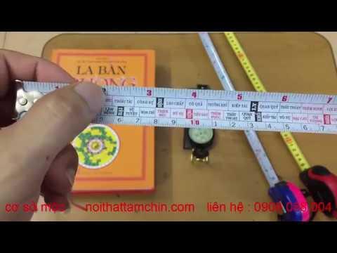 Hướng dẫn sử dụng thước lỗ ban phong thủy – Ý nghĩa các cung trên thước lỗ ban