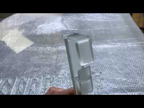 Гидроабразивная резка триплекса