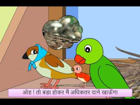 Baby Bird Can't Find Its Mother! (Hindi)