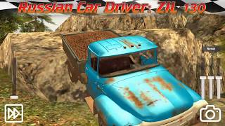 Russian Car Driver ZIL 130 #6 Cargo Transport Android GamePlay FHD