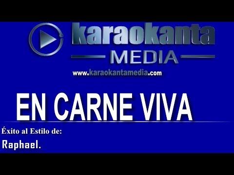Karaokanta - Raphael - En carne viva