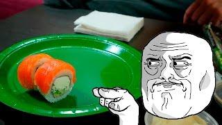 видео Вкусные суши