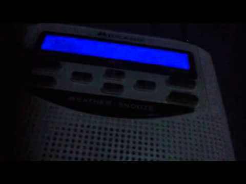 Noaa weather radio Shreveport, LA WXJ68
