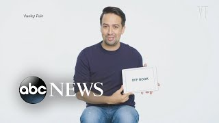 Lin-Manuel Miranda featured in the holiday issue of Vanity Fair magazine