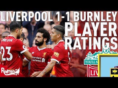 Salah Gets An 8! | Liverpool 1-1 Burnley | Player Ratings