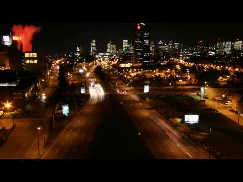Montreal by Night - Time Lapse