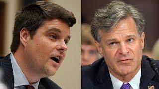 "Gaetz Demands FBI Director Explain ""Special"" Treatment of Clinton During Investigation - 12/7/17"