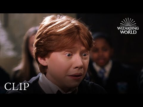 Ron receives a Howler | Harry Potter and the Chamber of Secrets