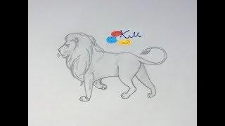 Казка Як лев утонув у колодязі та уроки малювання на каналі #КазочкиМалюночки