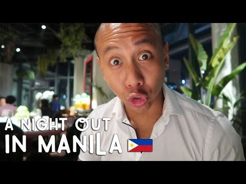 A Night Out in Manila   Vlog #254