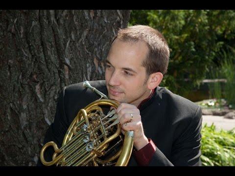 Esa-Pekka Salonen. Koncert etude for horn solo. Horn - Szabolcs Zempleni.